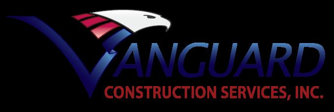 vanguard construction services logo, contractor in fresno