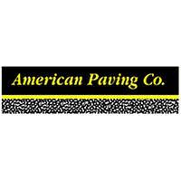 american paving